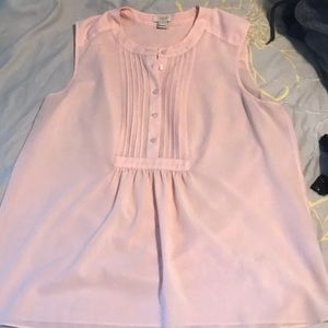 JCrew Light Pink Shell